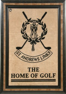 Golf towel from St. Andrews